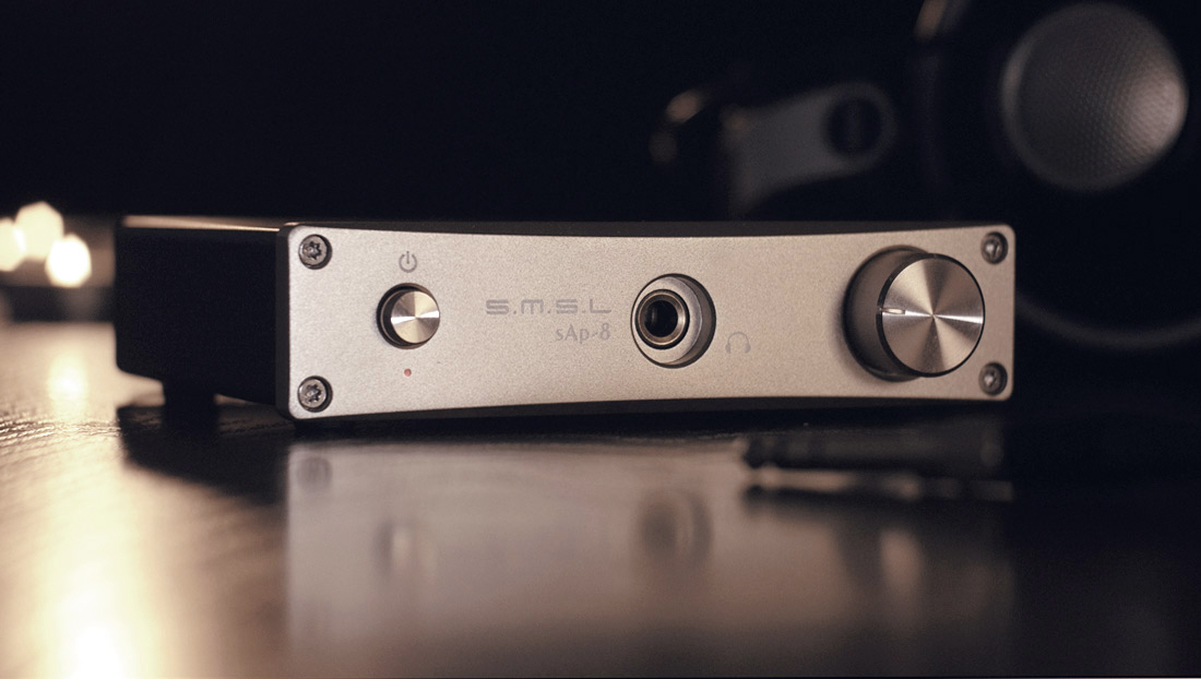 SMSL SAP-8 - Headphone amplifier